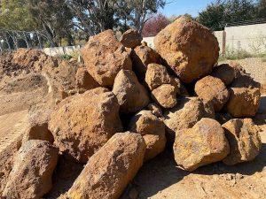 Landscape Boulders - Lo Pilato Bros Landscaping Supplies