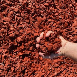 Red Chip Mulch - Lo Pilato Bros Landscaping Supplies Canberra