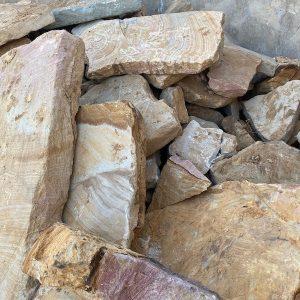Sandstone Walling Rock - Lo Pilato Bros Landscaping Supplies Canberra