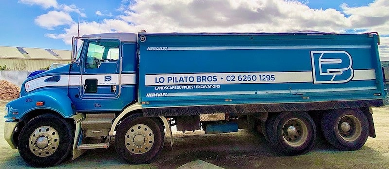 Truck Delivery - Lo Pilato Bros Landscaping Supplies Canberra