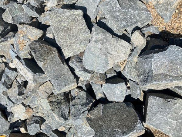 Wee Jasper Rock Wall Blue Stone - Lo Pilato Landscaping Supplies Canberra